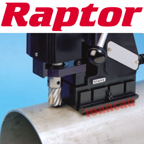 Bộ gá khoét ống Raptor