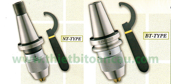 Đầu khoan dùng cho máy CNC kiểu NT và BT