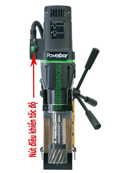 Điều chỉnh tốc độ máy khoan từ PB70FRV