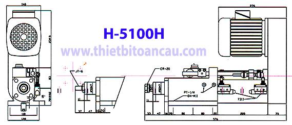 Đầu máy khoan KTK H-5100H