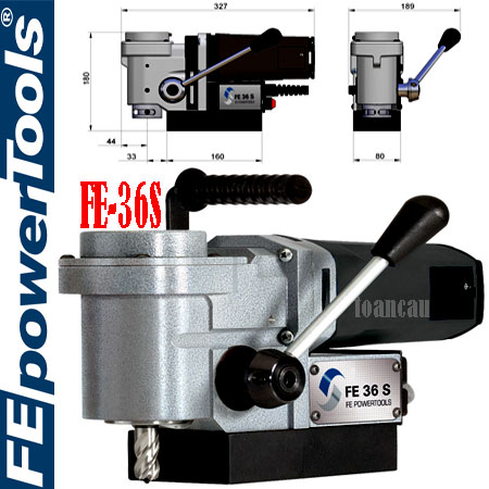 Máy cắt lỗ kim loại FE-36S