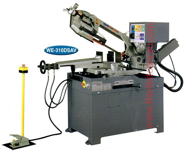 Máy cắt phôi thép WE-310DSAV