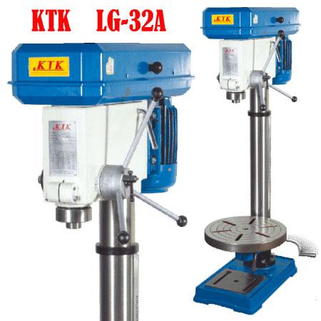 Máy khoan 3HP 32mm 9 tốc độ LG-32A KTK Đài Loan