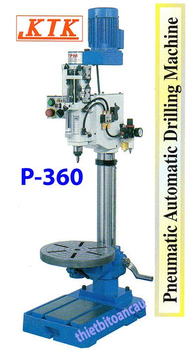 Máy khoan bàn tự động tốc độ cao P-360A
