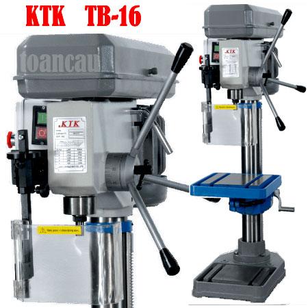 Máy khoan đứng 16mm 9 tốc độ TB-16 KTK Đài Loan