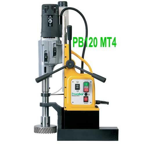 Máy khoan từ PB120 MT4 có gì mới