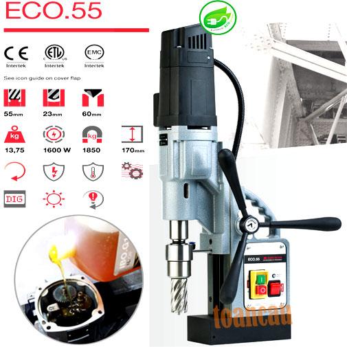 Máy khoan từ châu Âu ECO-55