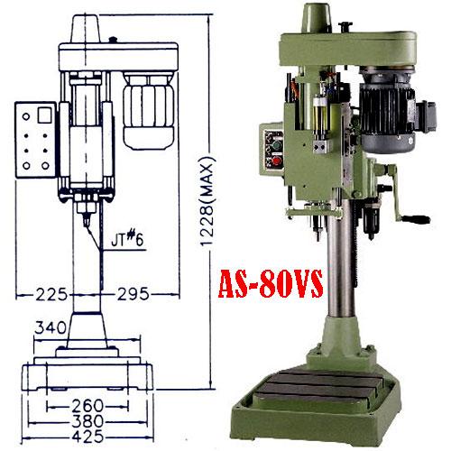 Máy khoan tự động AS-80VS