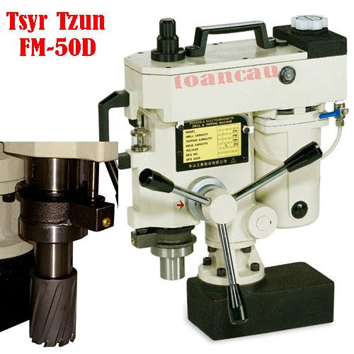 Máy khoét lỗ kim loại tự động FM-50D