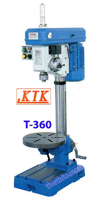 Máy ta rô tự động kiểu trục vít T-360
