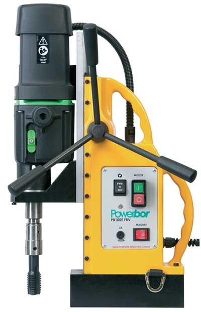Ta rô bằng máy khoan từ Powerbor PB100E-FRV