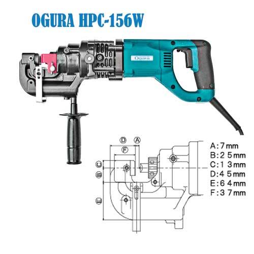 Máy đột lỗ cầm tay HPC-156W