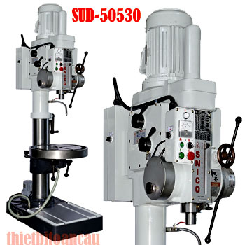 Máy khoan 40mm 12 tốc độ bàn tròn SUD-50530
