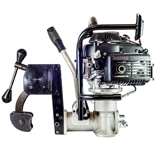 Máy khoan ray dùng động cơ