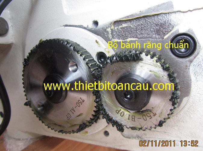 Bộ bánh răng chuẩn máy Ta-rô tự động T-50