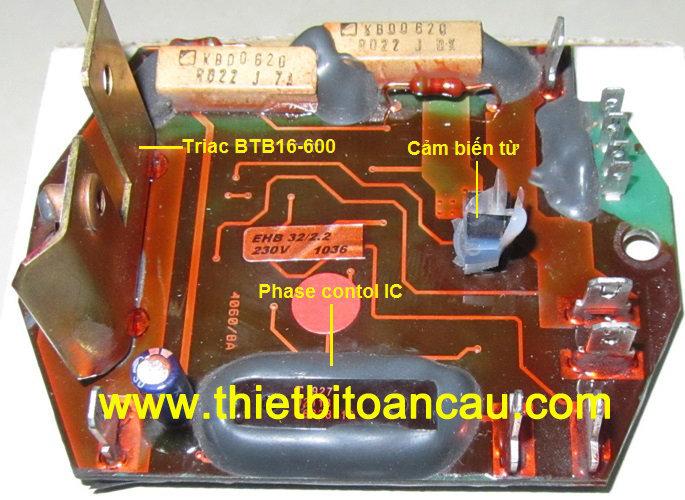 Bo mạch điều khiển máy khoan từ Powerbor PB70